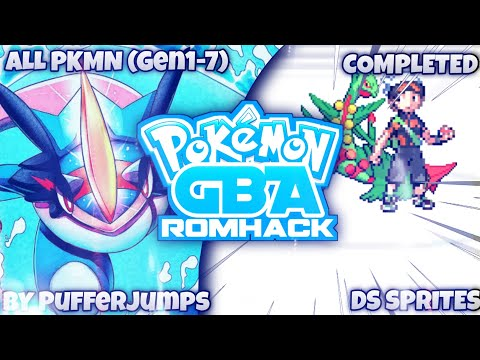 Completed Pokemon GBA ROM Hack With Mega Evolution, All Pokemon, New Rivals And Many More!!!