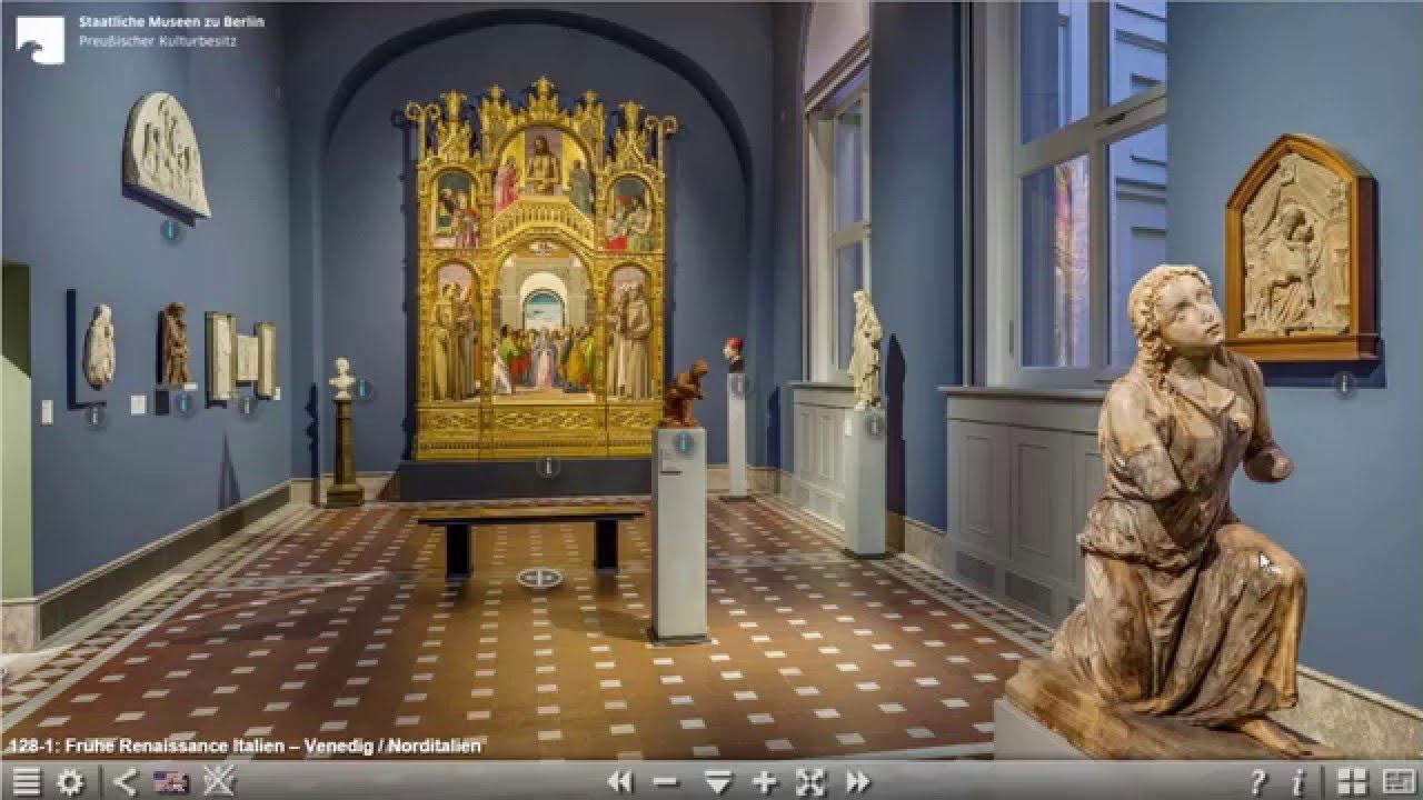 Virtuelle Tour Bode-Museum Berlin - Einfhrung - YouTube
