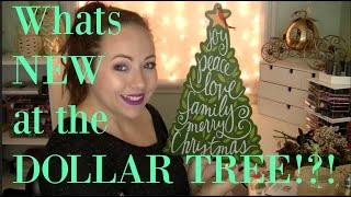 Dollar Tree Haul! November 2015 | Christmas stuff & new finds!