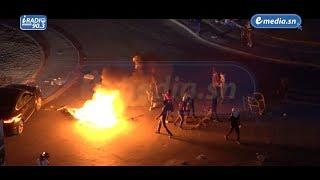 IRADIO: Film de la confrontation des partisans supposés de KHALIFA SALL face aux forces de l'ordre