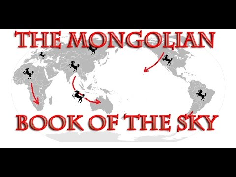 What is THE MONGOLIAN BOOK OF THE SKY? (includes reading from THE DARK FOX)