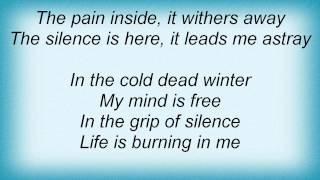 Desultory - Winter Lyrics