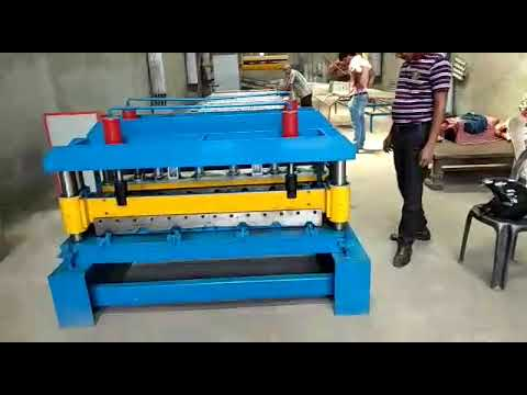 Glaze Tile Roll Forming Machine installation In Howrah Kolkata