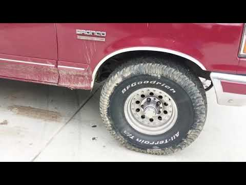 1991 Silver Anniversary Ford Bronco 2018 Review