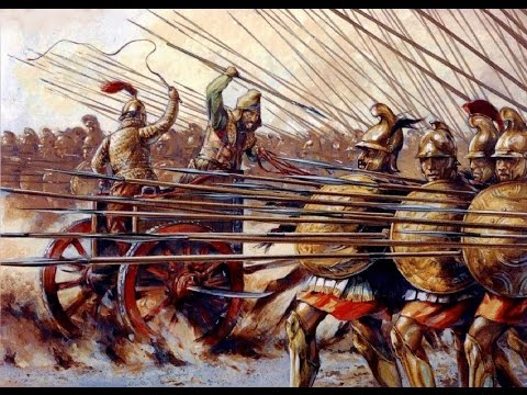 Битва при Гавгамелах - Lets play Alexander TW The battle of Gaugamela
