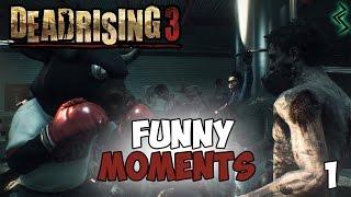 Dead Rising 3 Funny Moments Ep.1 (Harpoon Gun, Fabulous Mask & Fast Food!! :D )