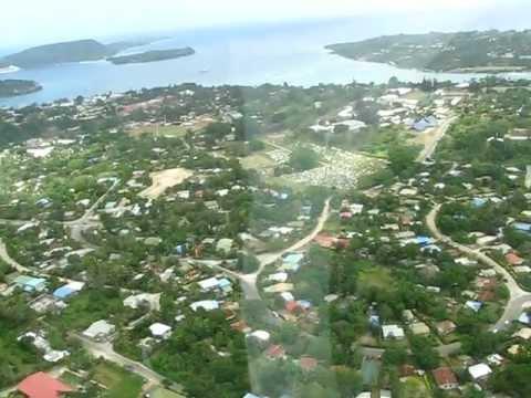 Helicopter Tour over Vanuatu - October 2011