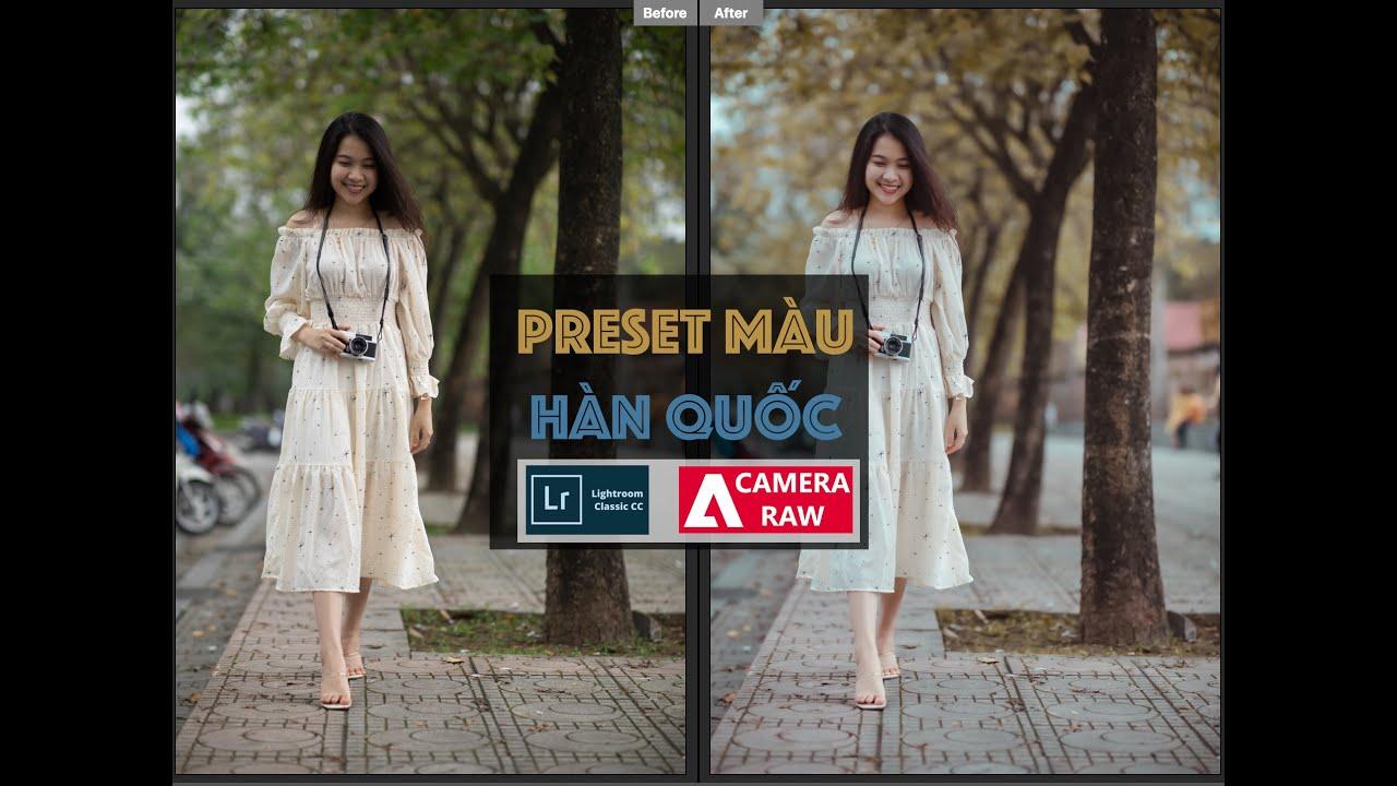 Tặng Preset Màu Hàn Quốc Áp Hàng Loạt Trong Lightroom & Camera Raw | Free Presets | Lavender Channel