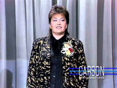 "Roseanne Barr Makes Her 1st TV Appearance Ever on ""The Tonight Show"" -- 1985"