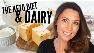 The Ketogenic Diet & Dairy -  Milk, Yogurt and Cheese | Ashley Salvatori