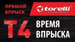 Torelli T4. Время впрыска. Двигатели с непосредственным впрыском (гбо)