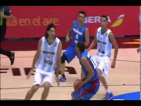 2 poster dunk of Gabe Norwood vs Argentina - HQ
