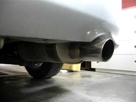 Apexi WS2 Exhaust on Honda Civic