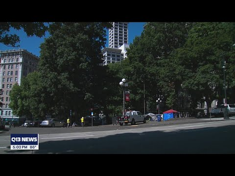 King County Courthouse employees told to work from home due to rise in violence | Q13 FOX Seattle