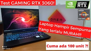 HP OMEN 15 RTX 3060 2021 INDONESIA || Test GAMING & REVIEW