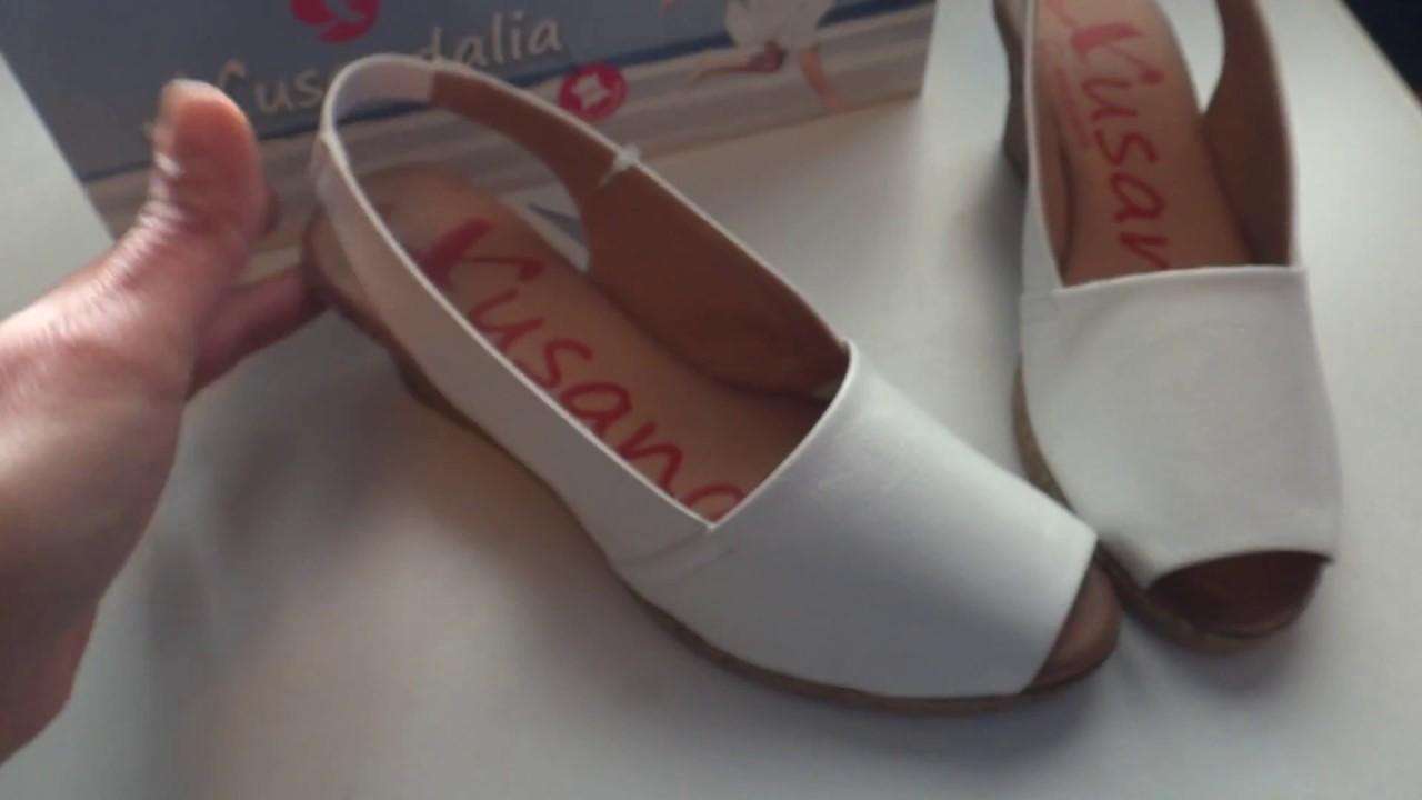Летняя женская обувь без каблука! - YouTube