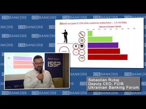 Banks as FinTechs, Sebastian Rubaj, Deputy CEO, First Ukrainian International Bank