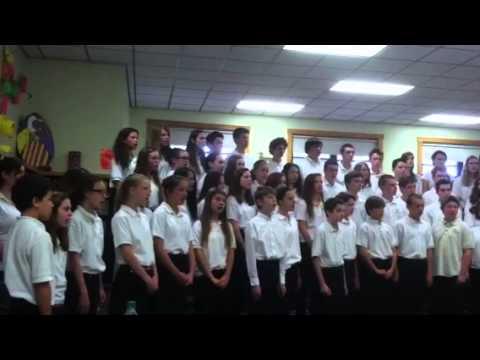 Marshwood Middle School Choir 2014