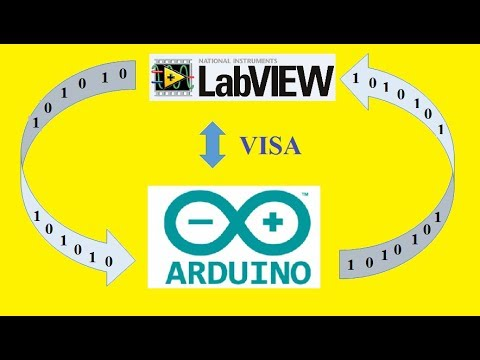 Read data from Arduino using LabVIEW