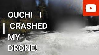 Drone Crash! My Fault!!!