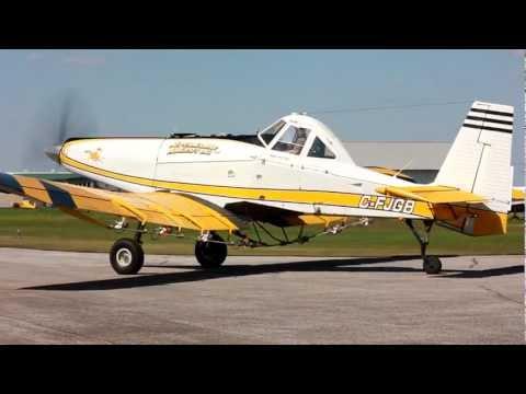 [HD] Two Pezetel M18 Dromader Takeoff CSU3