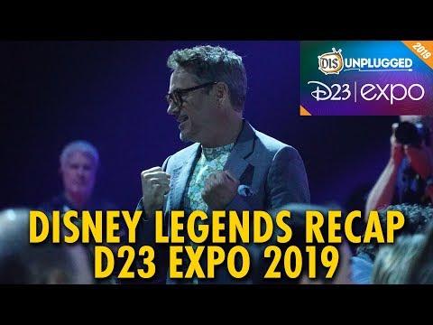 D23 Expo Disney Legends Recap | D23 Expo 2019