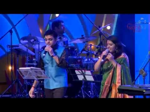 """Sundari Neeyum"" song by Supriya Raghunandan & Ajay Warriar @ 53rd Bengaluru Ganesh Utsava...!!!"