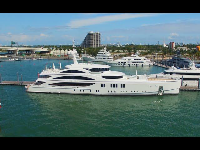 Miami Boat Show Yacht