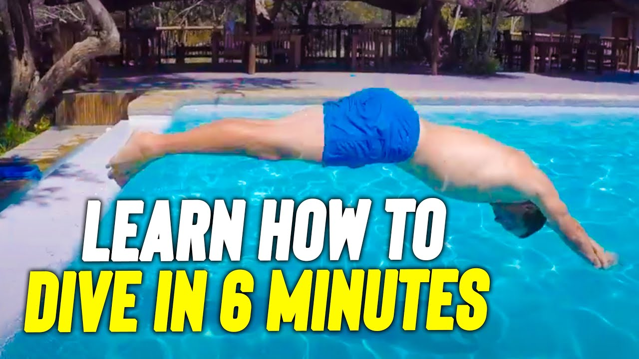 Download How to DIVE in your Swimming pool like a PRO
