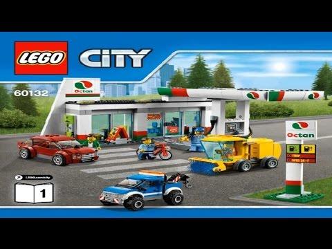 LEGO CITY - SERVICE STATION 2 IN 1, 60132/ ЛЕГО СИТИ - ЗАПРАВОЧНАЯ .