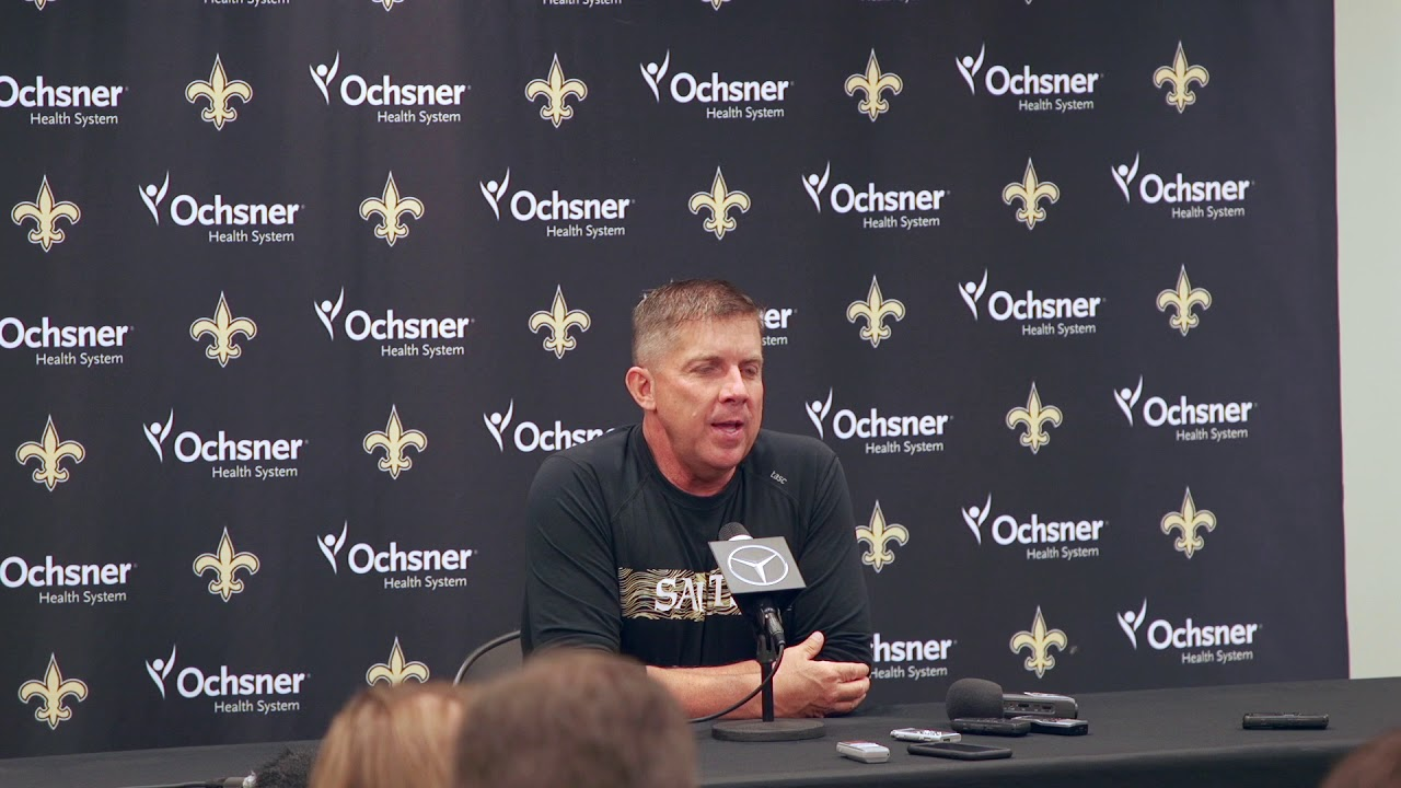 d96c87d4e Sean Payton hopes the New Orleans Saints can make Tom Benson  proud  in 2018