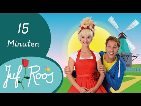 Zing mee met Juf Roos • Alle Liedjes Deel 2 • 15 Min Special
