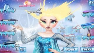 Elsa Hairstyles -  Frozen Hair Games - Free Online