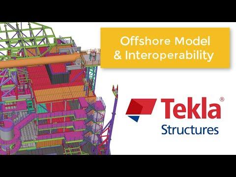 Kampus Tekla Indonesia - Offshore Modeling dan Interoperability-nya