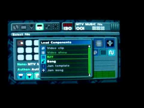 MTV Music Generator On PSP Gameplay -My Tune!