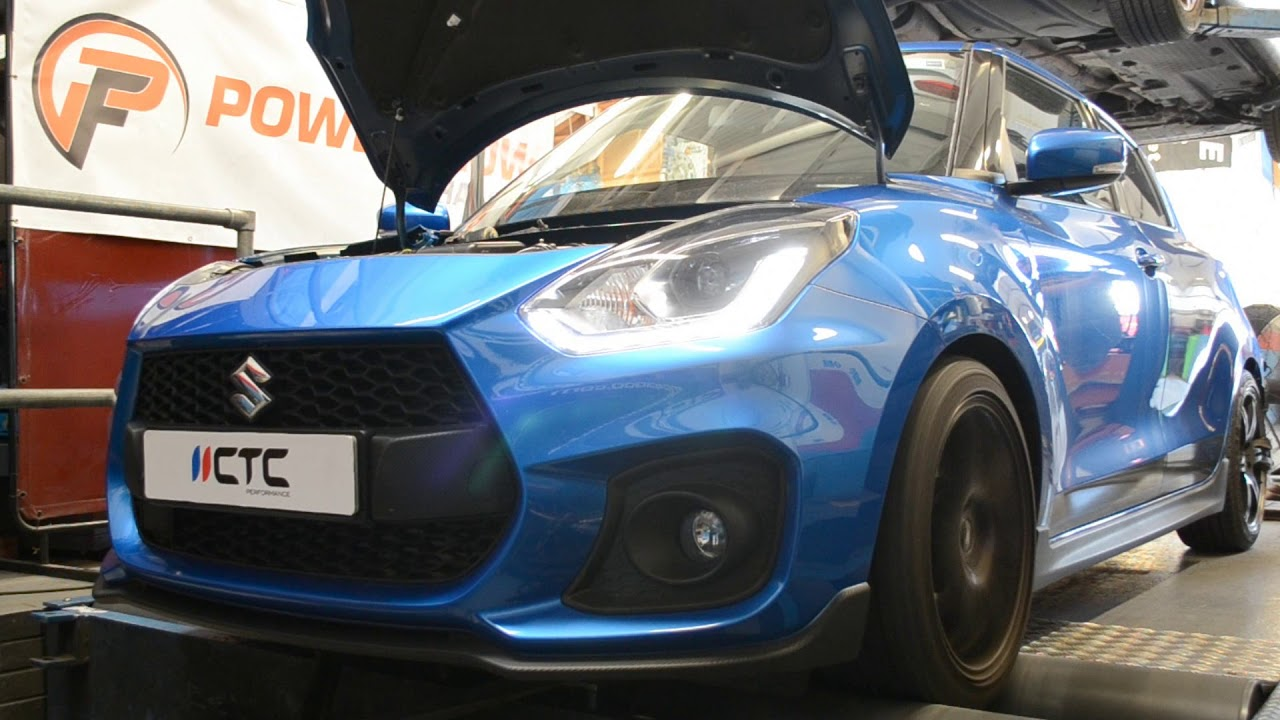 CTC Performance Suzuki Swift Sport 2018 ZC33S 1 4T Boosterjet Tuning
