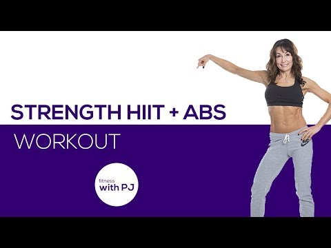 Strength HIIT + Abs 😜