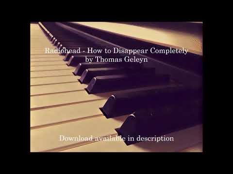 Radiohead - How to Disappear Completely Cover