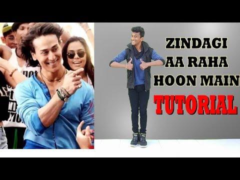 Zindagi Aa Raha Hoon Main || Tiger Shroff || Signature Steps Tutorial || Nishant Nair