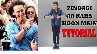 Download Zindagi Aa Raha Hoon Main    Tiger Shroff    Signature Steps Tutorial    Nishant Nair