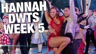 Hannah Beast and Disney Week on DWTS (Week 5)