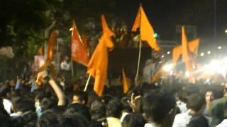 Bhai Raja Singh Motivating Ram Bhakts - Sri Ram Navami 2012 Hyderabad  -  M4H06622.MP4