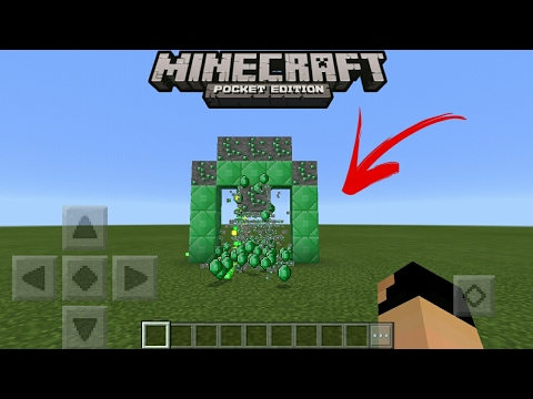 MCPE 1 0 9 How To Make Emerald Generator Command Block Creation