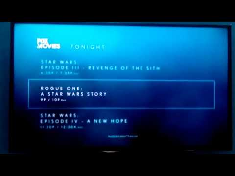 FOX Movies Tonight Lineup + FOX Action Movies Asia Station ID
