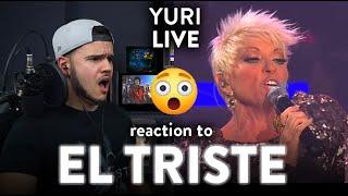 Yuri Reaction El Triste LIVE Cover (SHE DID IT!) | Dereck Reacts