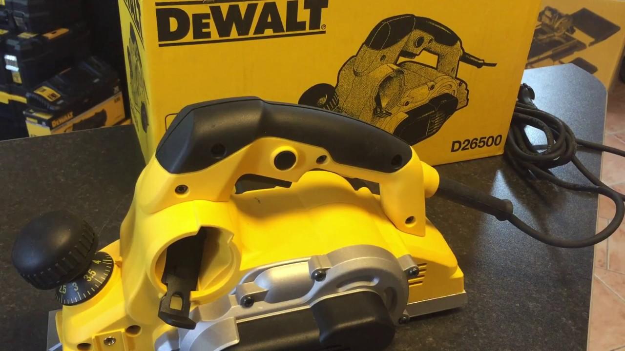 dewalt d26500 - elektrohobel dewalt - dewalt hobelmaschine - dewalt