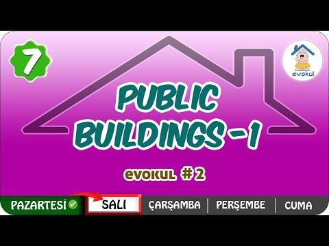 Public Buildings-1 | 7.Sınıf #uzaktanegitim #evokul Kampı