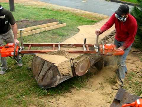 furniture made from tree trunks. Slabcutting Tree Trunk For Handcrafted Furniture Made From Trunks D