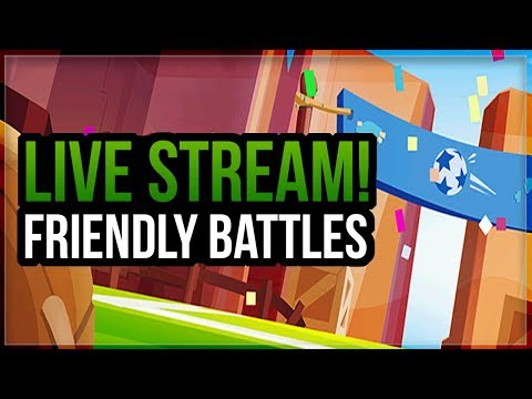 Live Stream! Friendly Battles with Coach Cory!