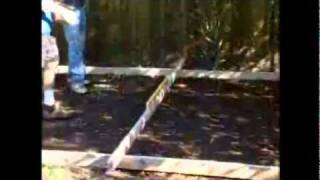 Concrete Slab - How To Lay A Slab For Your Garden Shed